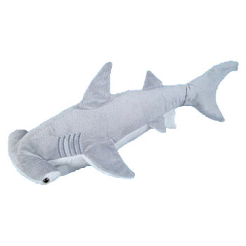 Shark Toys And Games : Adventure planet plush hammer head shark inch