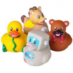 Set of 6 Styles EMOTICON DUCKIES Rhode Island Novelty Rubber Ducks - New