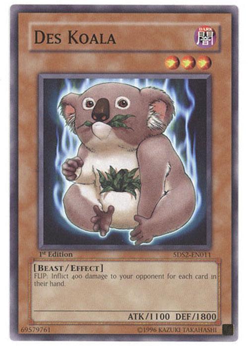 Yu Gi Oh Card 5ds2 En011 Des Koala Common