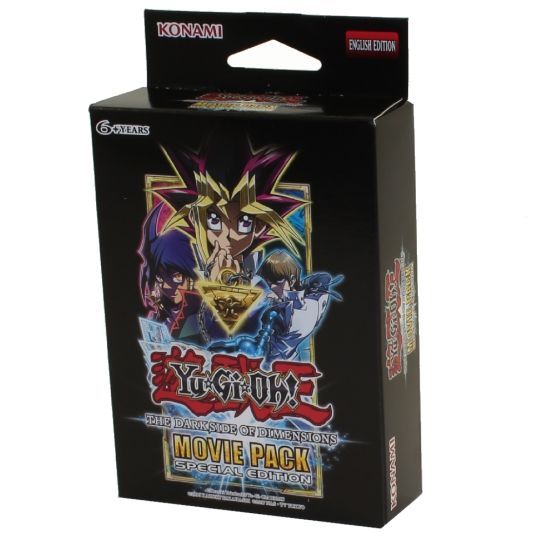 Yu Gi Oh Cards The Dark Side Of Dimensions Movie Pack Special