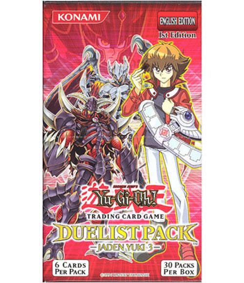 Duelist Pack Jaden Yuki Jaden Yuki 3 30 Packs