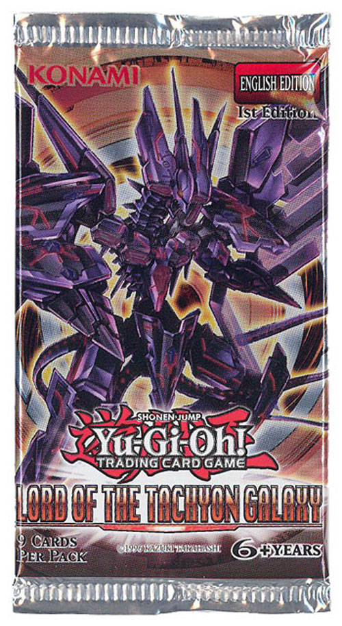 Yu Gi Oh Cards Lord Of The Tachyon Galaxy Booster Pack Bbtoystore Com Toys Plush